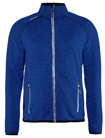 Blaklader 4942 Knitted Jacket (Cornflower Blue/White)
